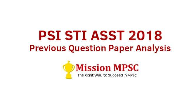 PSI-STI-ASST-2018---Previous-Question-Paper-Analysis