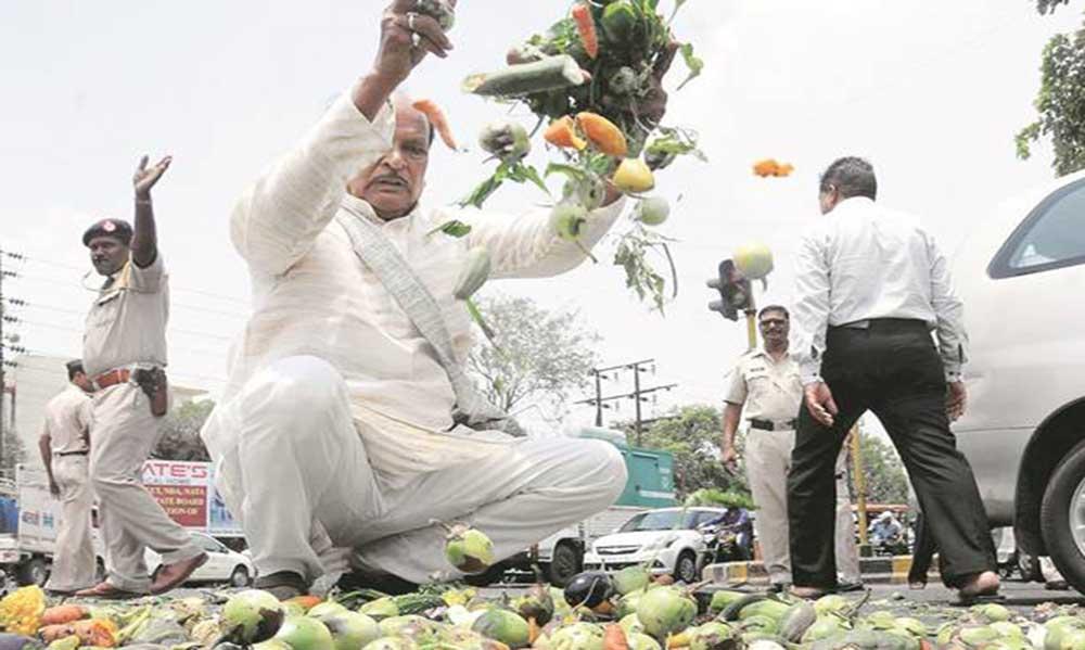 farmer strike
