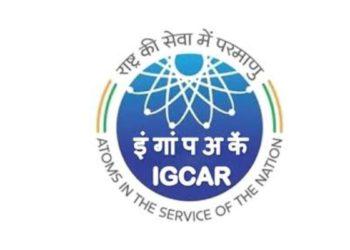 IGCAR Recruitment 2020