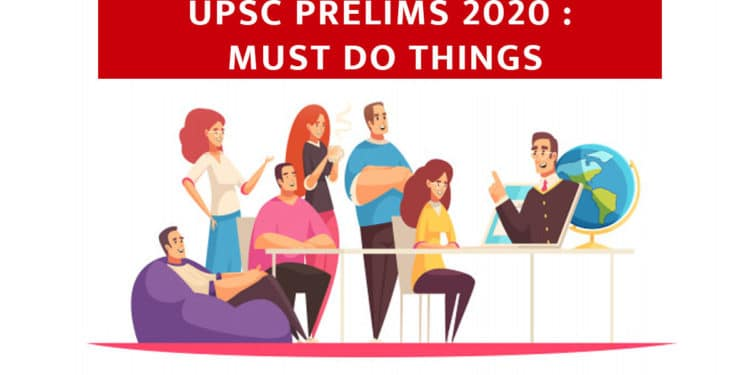UPSC 2020 Must do things