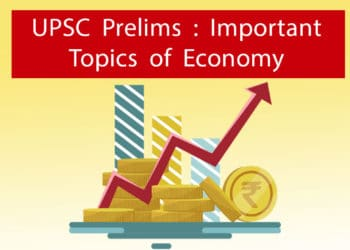 UPSC Prelims Important Topics of Economy